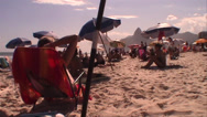 Stock Video Footage of 020-Brazil-Rio-De-Janeiro-Ipanema-People-Lifestyle-Beach