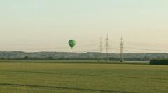 Balloon ride Stock Footage