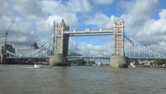Tower Bridge , London Stock Footage