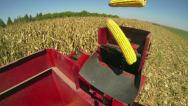 Stock Video Footage of Cob Harvester
