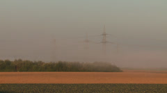 Fog in Morning Stock Footage