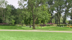 Park in Holland Stock Footage