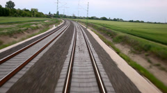 Railway - stock footage