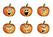 Stock Illustration of pumpkins