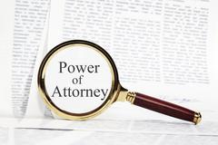 power of attorney concept - stock photo
