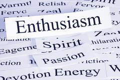 Enthusiasm concept Stock Photos