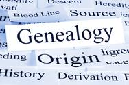 Stock Photo of genealogy concept