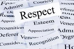 Respect concept Stock Photos