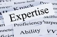 Stock Photo of expertise concept