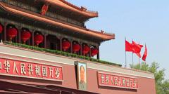 The Tiananmen,Beijing Stock Footage