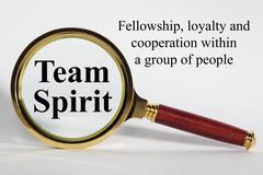 team spirit concept - stock photo