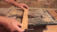 Electric Saw Stock Footage
