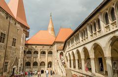 Corvin Castle Palace In Hunedoara, Romania - stock photo