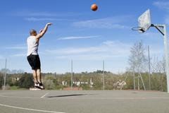 Basketball Jump Shot Stock Photos