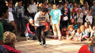 Stock Video Footage of B-Boy Breakdance Battle - Short Sequence 05