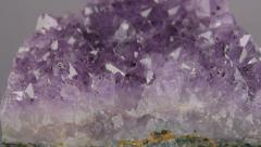 Amethyst Dolly on Gray Background Stock Footage