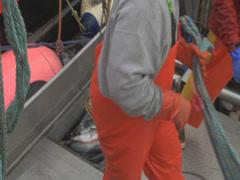 Salmon fishing boat 3 Stock Footage