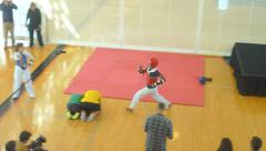 Martial Arts Training 4 of 4 Stock Footage