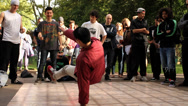 Stock Video Footage of B-Boy Breakdance Battle - Short Sequence 03