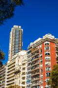 Apartment Buildings in Buenos Aires - stock photo