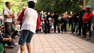 Stock Video Footage of B-Boy Breakdance Battle - Long Sequence 07