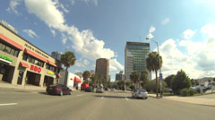 Downtown Orlando business district Stock Footage