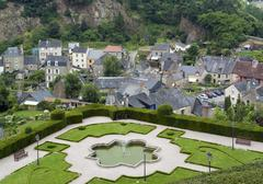 fougeres - stock photo