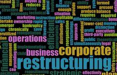 Restructuring Stock Illustration