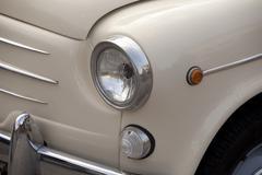 car headlamp - stock photo