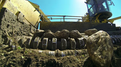 Agricultural Machinery  - Sugar Beet Harvest - stock footage