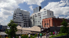New York from High Line - stock footage