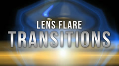 lens flare transitions pack - stock after effects