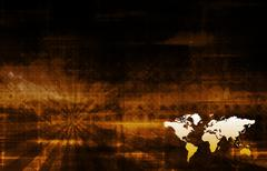 Corporate worldwide Stock Illustration