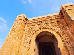 gate in rabat, morocco, africa - stock photo