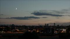 London at Night - stock footage