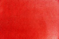 red glossy faux leather background texture - stock photo