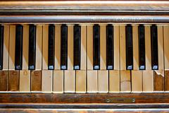 Forgotten Piano Stock Photos