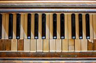 Stock Photo of Forgotten Piano