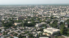 Osh city in Kyrgyzstan Stock Footage
