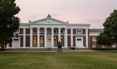 Old cabell hall at university of virginia Stock Photos