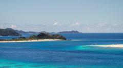 Okinawa Island Paradise Beach Time lapse Stock Footage