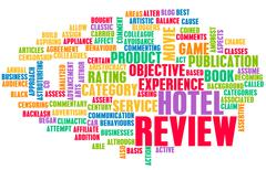 Hotel review Stock Illustration