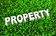 Stock Illustration of growing property wealth