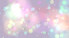 Party Background Particles (Loopable) Stock Footage