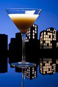 metropolis coffee martini cocktail - stock illustration