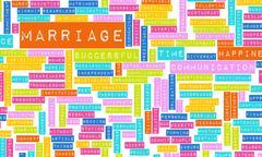 Marriage advice Stock Illustration