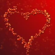 Collection of Beautiful, Vector Hearts Stock Illustration