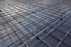 reinforcement metal framework - stock photo