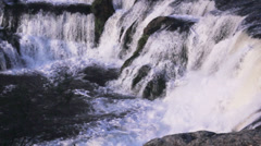 Waterfall rapids at Jaquirana in Brazil Stock Footage