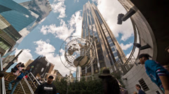 Columbus Circle Stock Footage
